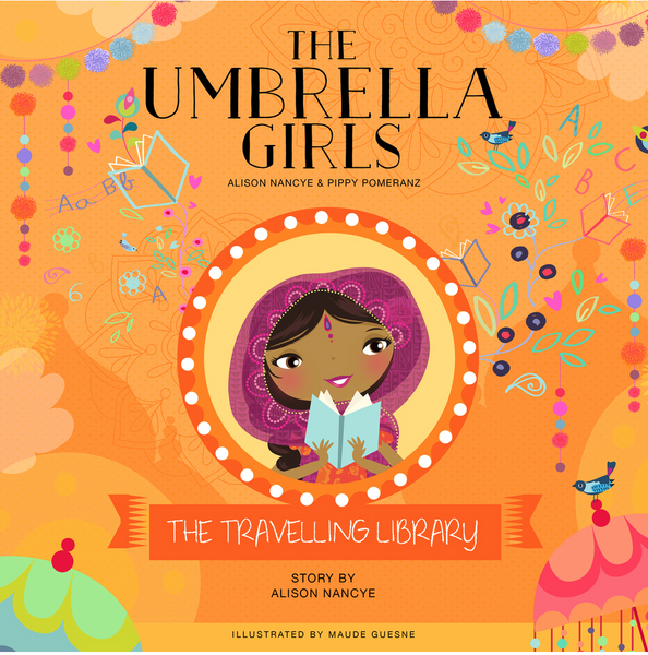 The Umbrella Girls - The Travelling Library