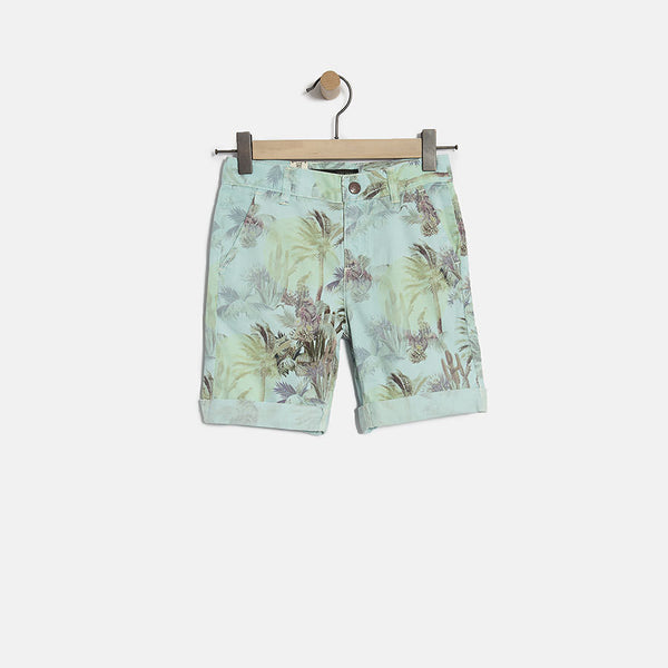 Palm Tree Chino Shorts