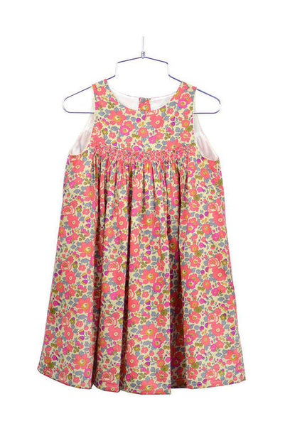 Stella S/S Dress - Strawberry