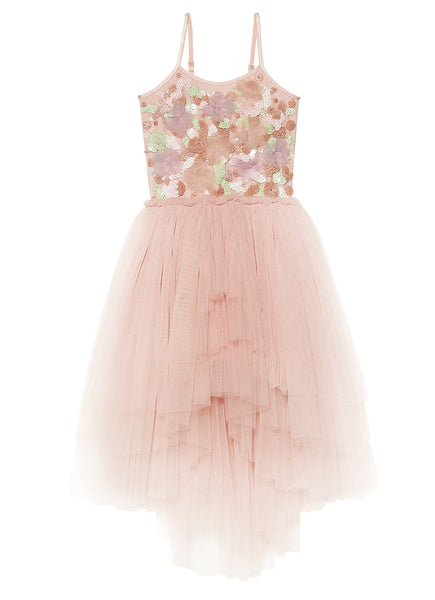 RAINBOW REEF TUTU DRESS - POWDER
