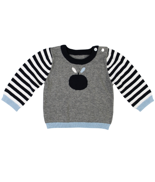 Gingerlilly - Ted Baby Boy Jumper