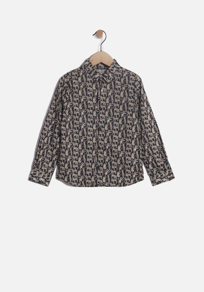 IKKS - Chemise Liberty / Boys' Printed Shirt