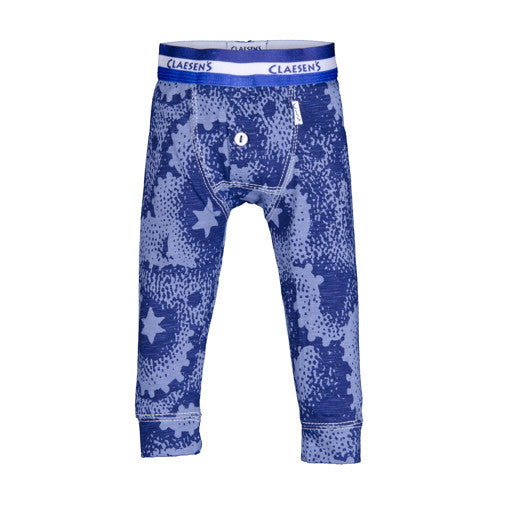 Baby Boys Star Navy Long Johns