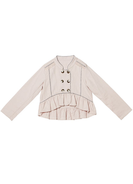 ROMANTIC RUFFLES JACKET-WISP
