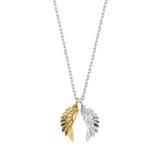 Wings Necklace - Gold/Silver plated