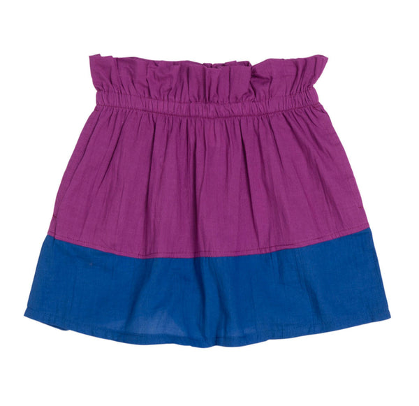 Baobab : Purple Paper Bag Skirt