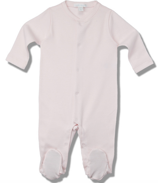 Pink Pointelle Angel Wing Jumpsuit