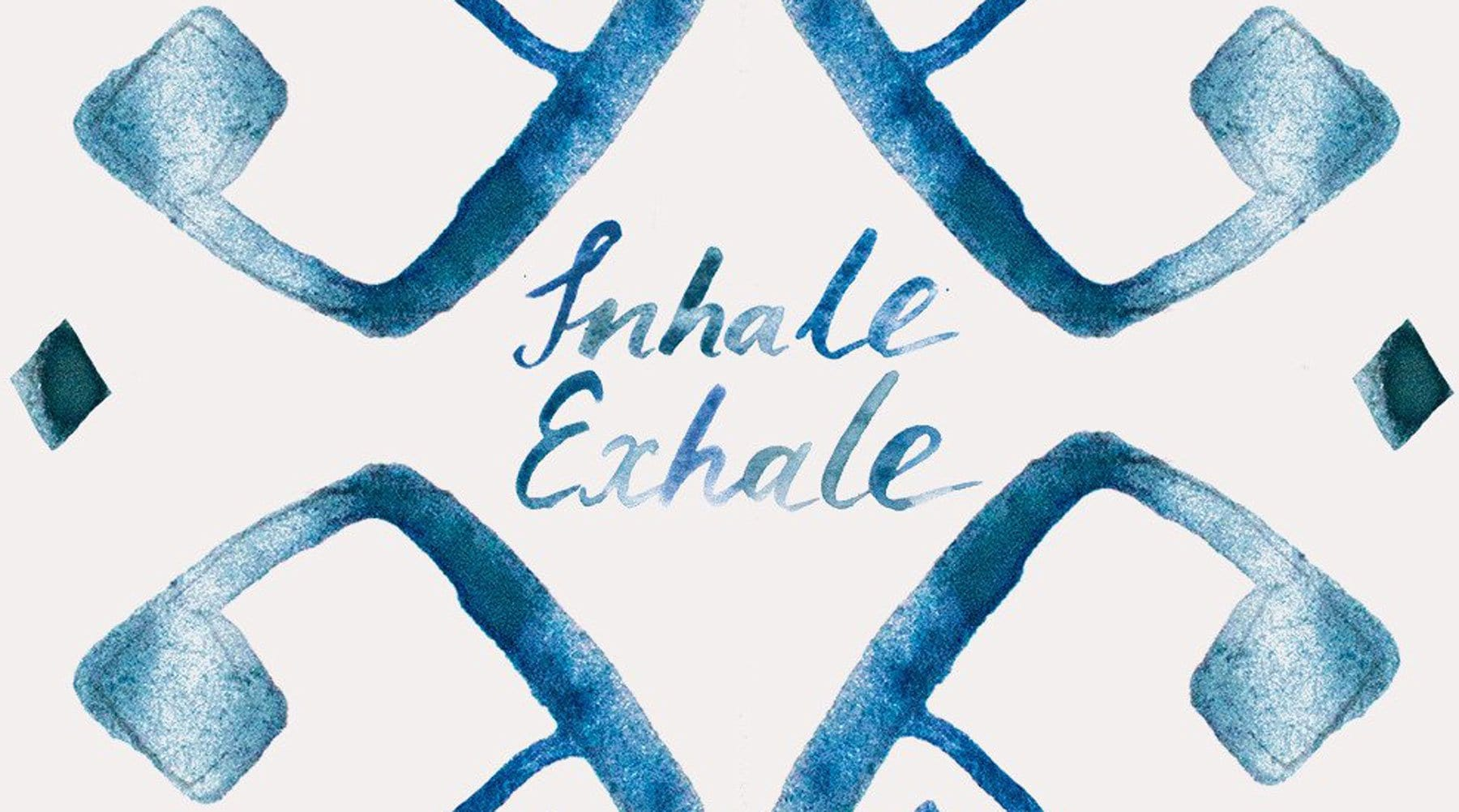 Inhale / Exhale - Free wallpaper download