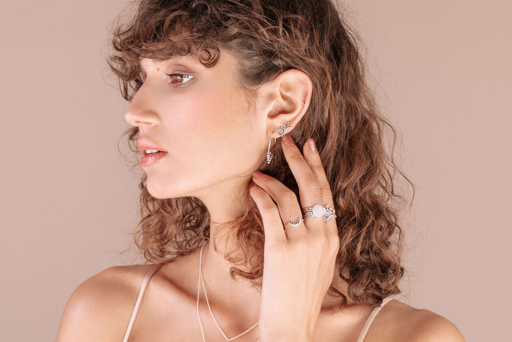 Midsummer Star x Roberta Pecoraro | Sterling Silver Jewelry - Necklaces, Earrings, Rings