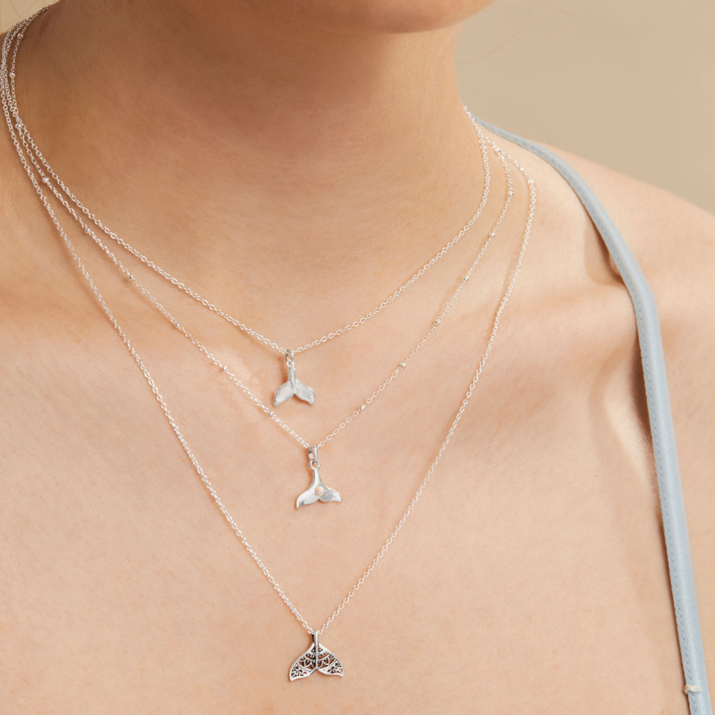 Midsummer Star Sterling Silver Aquatic Jewellery Necklaces
