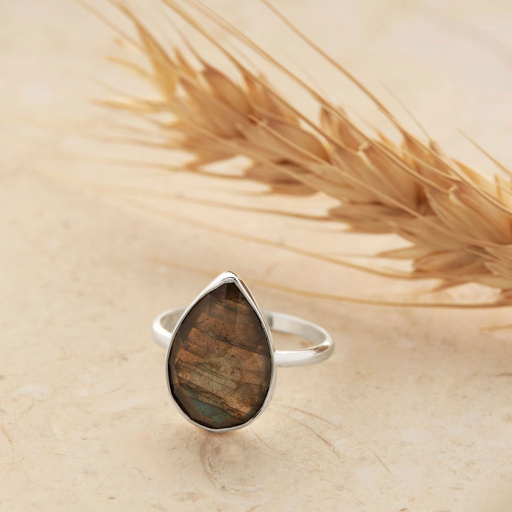 Midsummer Star Sterling Silver Labradorite Rings