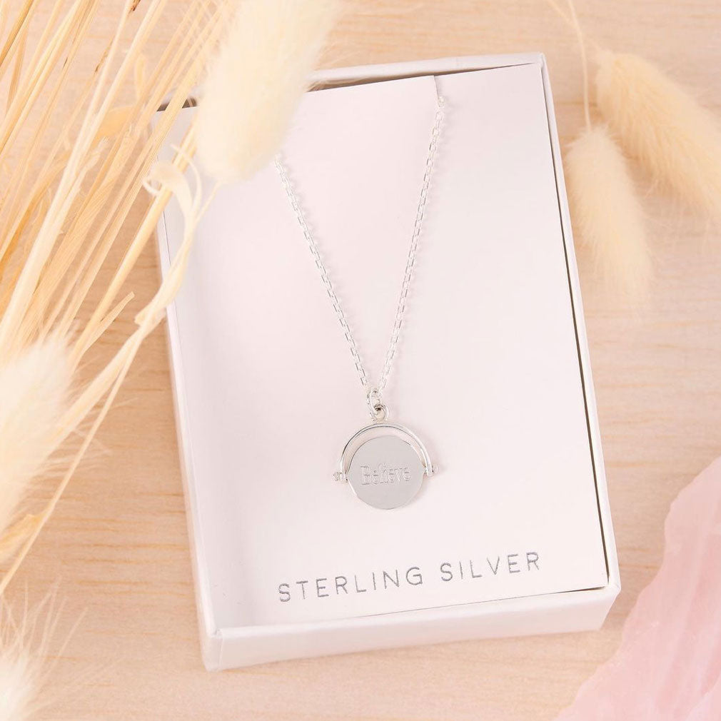 Midsummer Star Sterling Silver Engravable Necklaces and Jewellery