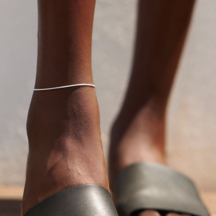 Curb Anklet Chain