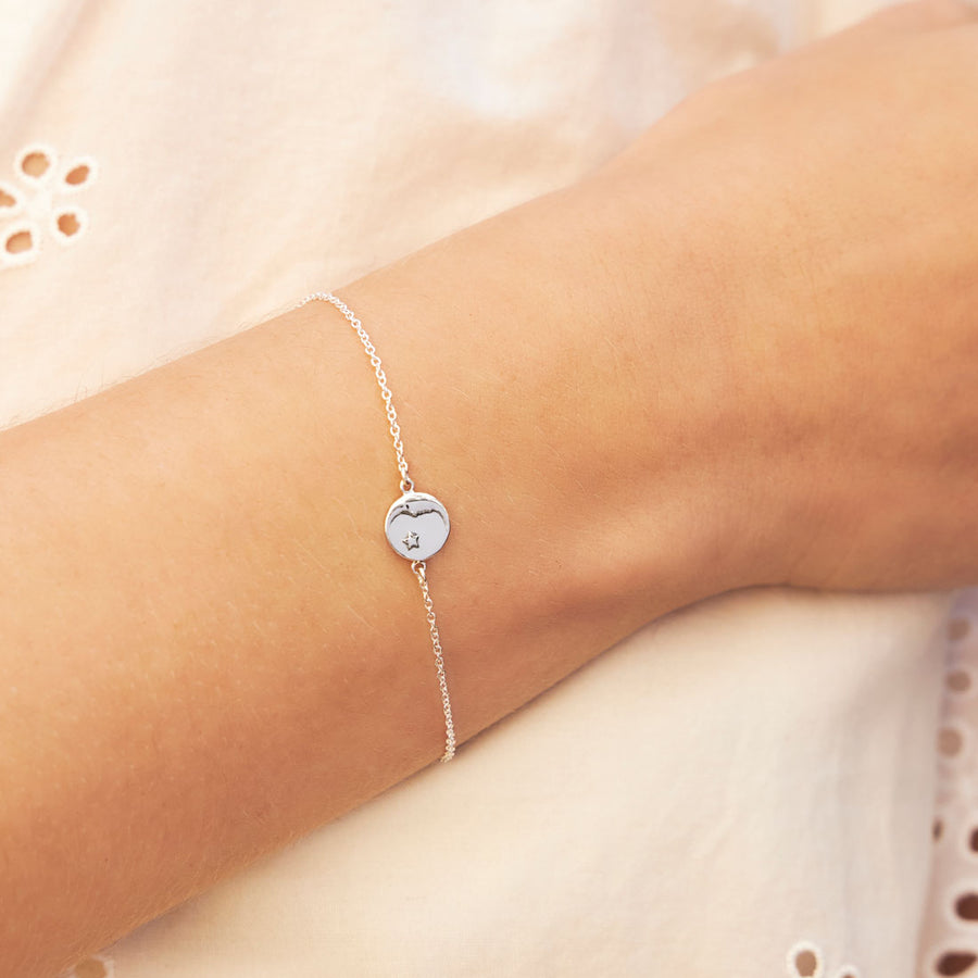 Lullaby Medallion Bracelet