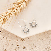 Rising Sun Ear Charms
