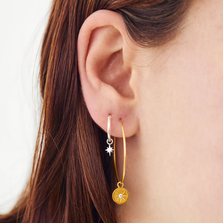 Gold Enchanted Light Ear Charms