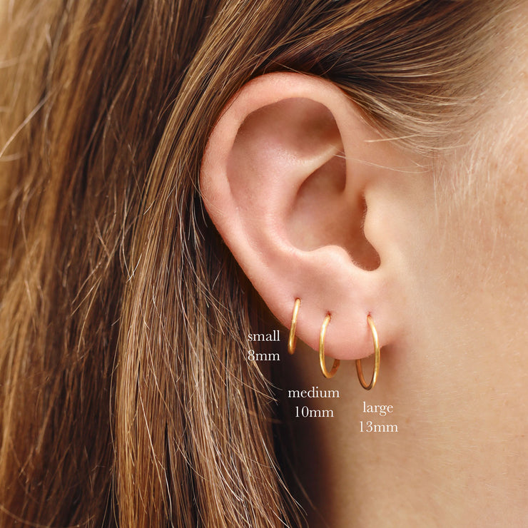 Gold Endless Sleepers 10mm