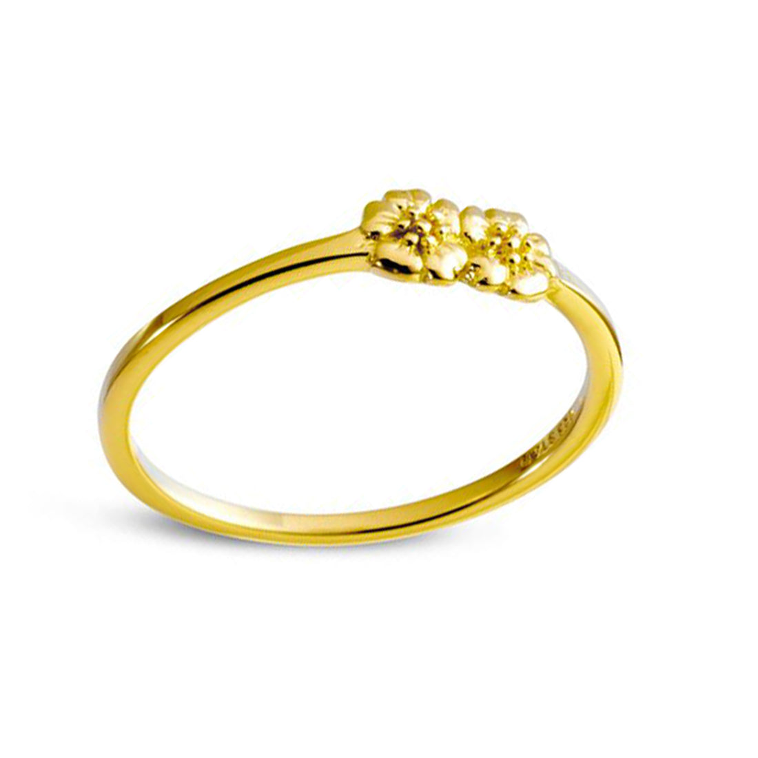 Gold Dioscuri Ring