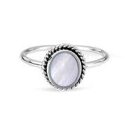 Sephira Mother of Pearl Ring