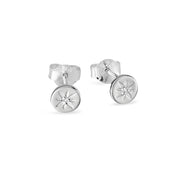 Enchanted Light Crystal Studs