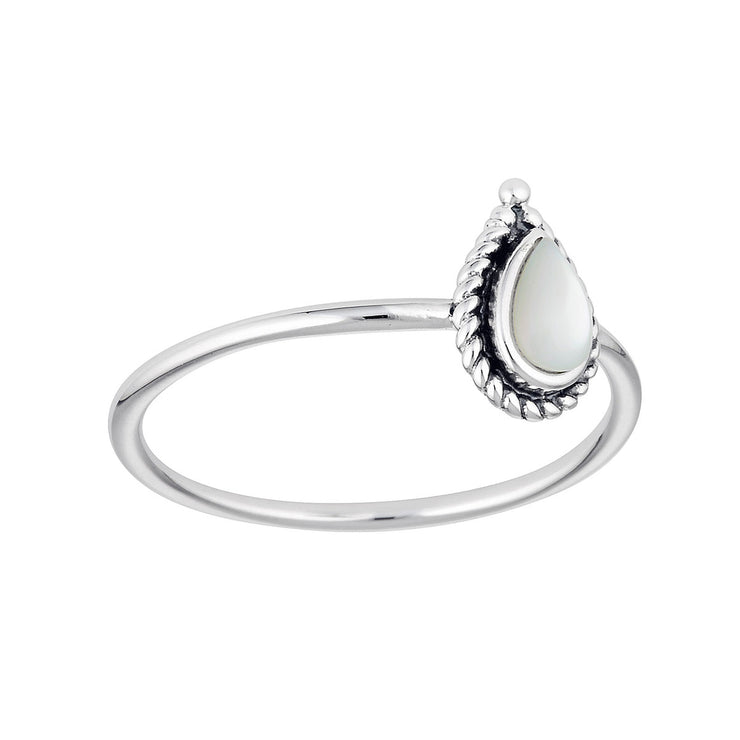 Luria Mother of Pearl Ring