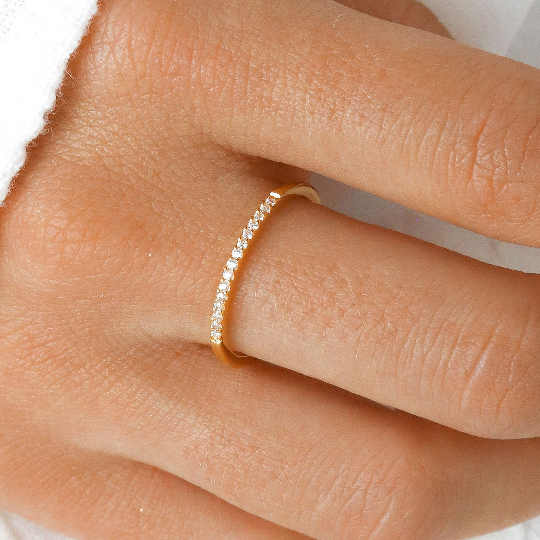 Gold Sparkles Ring