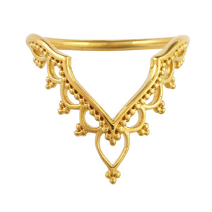 Gold Golden Temple Ring