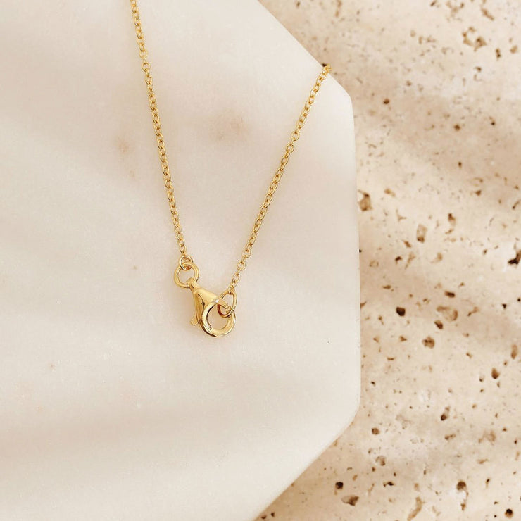 Gold Love Over Fear Necklace