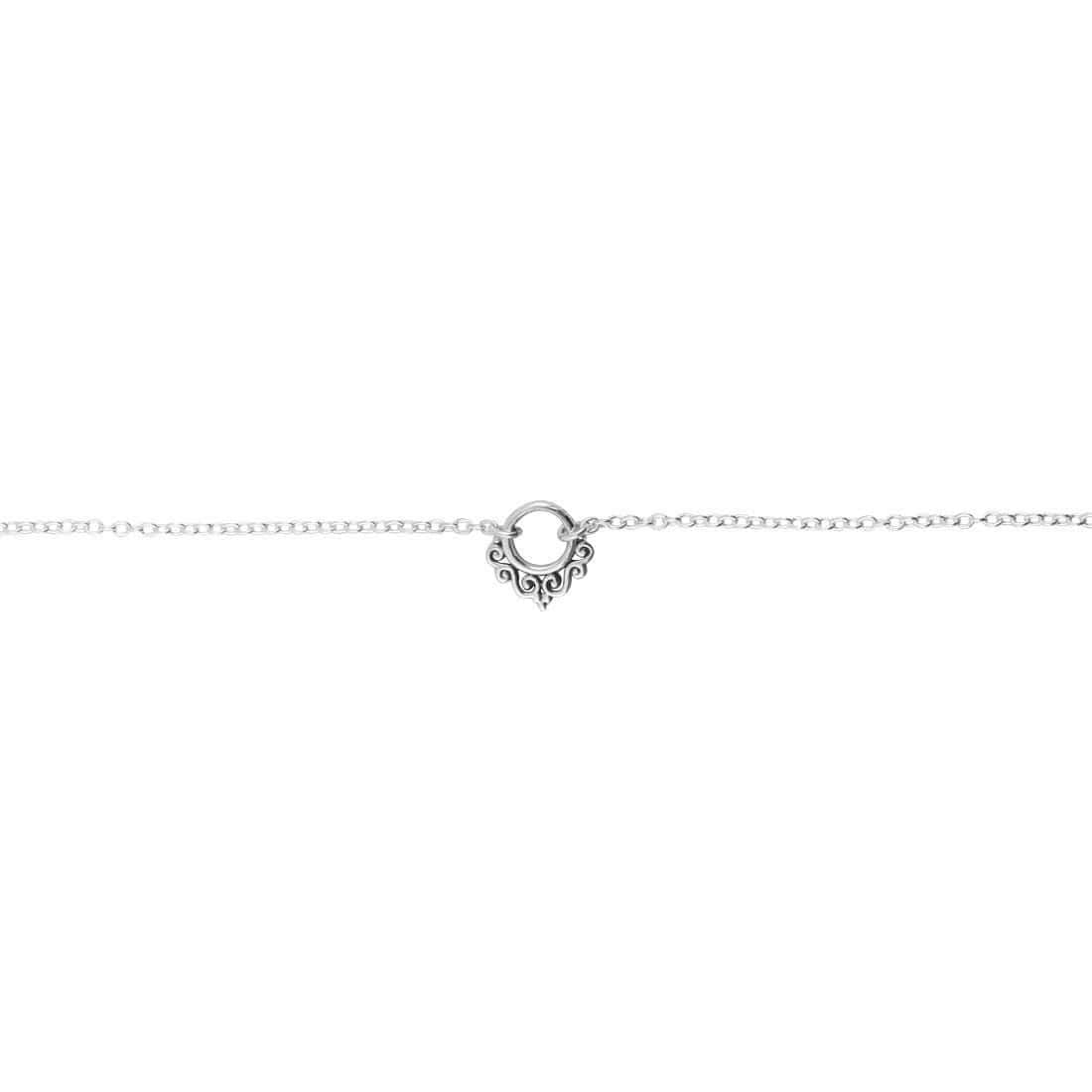 Midsummer Star Anklet Dainty Mhendhi Archway Anklet