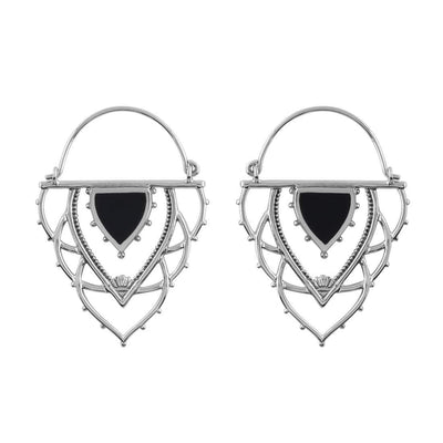 Midsummer Star Earrings Ancient Archways Onyx Hoops