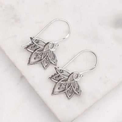 Midsummer Star Earrings Autumn Flower Earrings