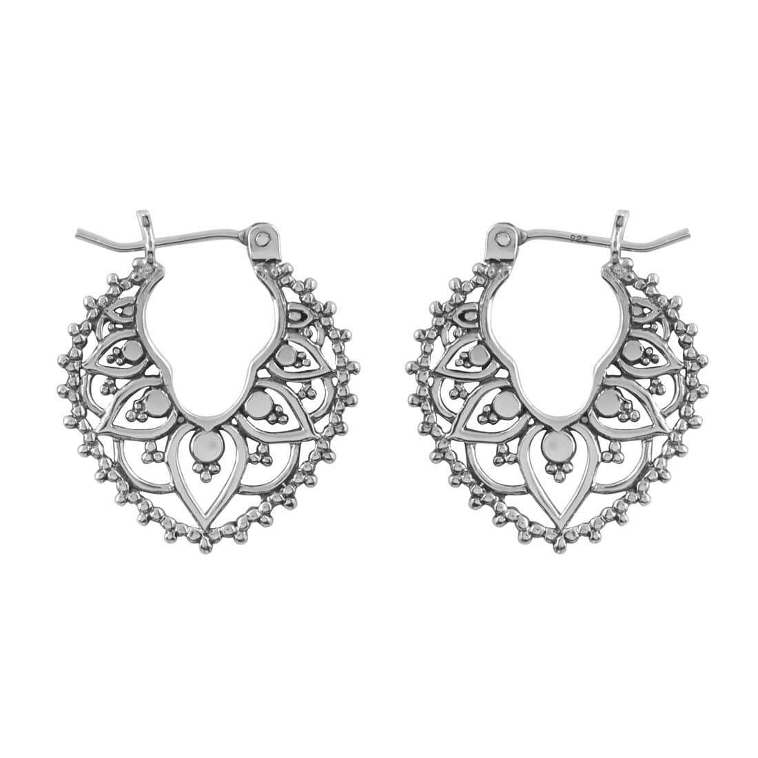Midsummer Star Earrings Captivate Hoops