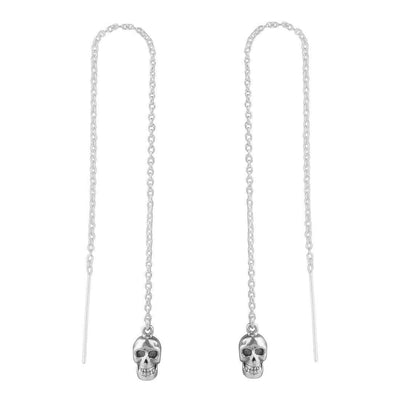 Midsummer Star Earrings Catacomb Skull Threaders