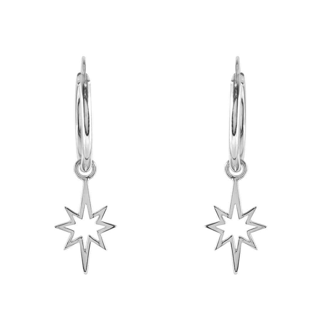 Midsummer Star Earrings Celestial Fragment Sleepers