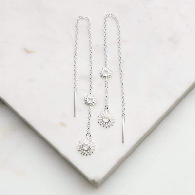 Midsummer Star Earrings Del La Sol Threaders