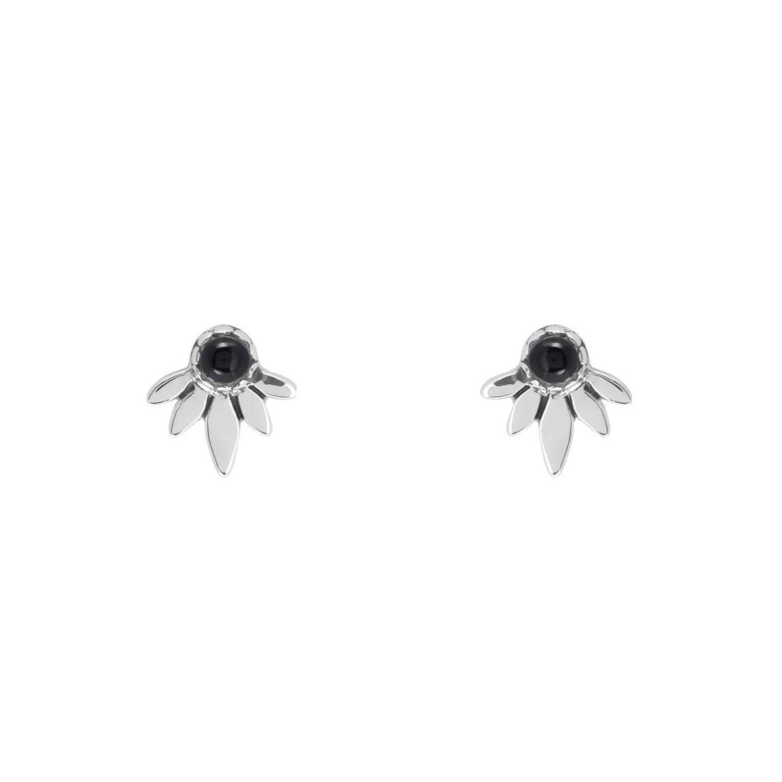 Midsummer Star Earrings Dusk Harvest Onyx Studs
