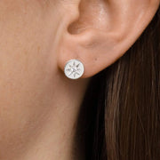 Midsummer Star Earrings Enchanted Light Crystal Studs