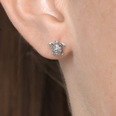Midsummer Star Earrings Great Barrier Reef Turtle Studs