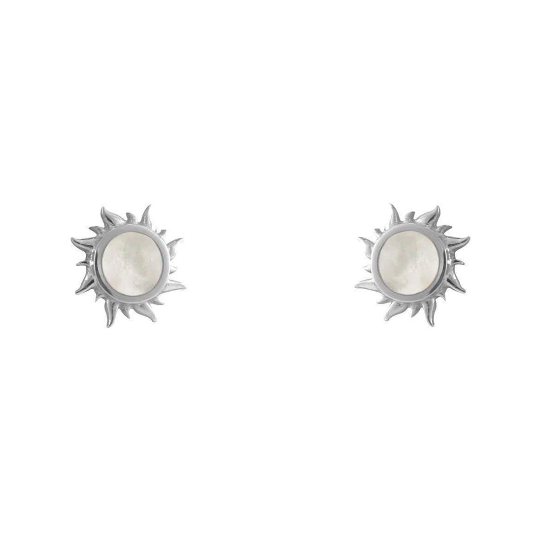 Midsummer Star Earrings Iridescent Dawn Studs