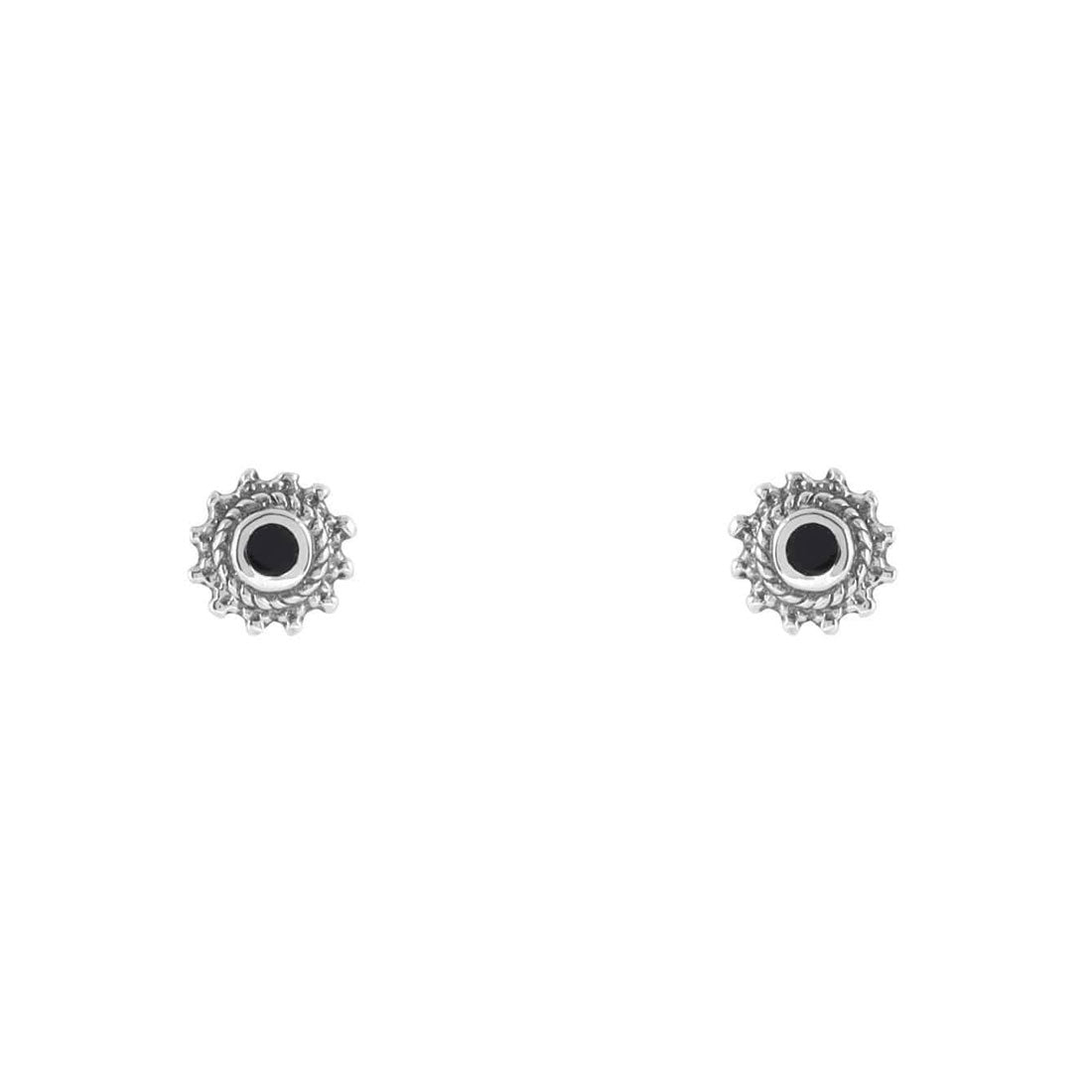 Midsummer Star Earrings Kuta Sunset Onyx Studs