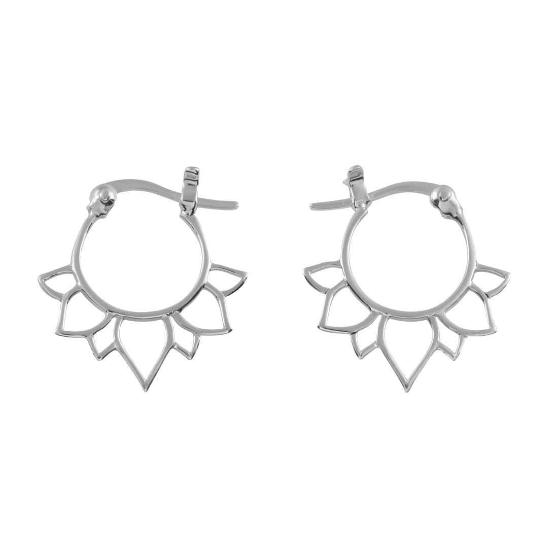 Midsummer Star Earrings Lotus Sleepers