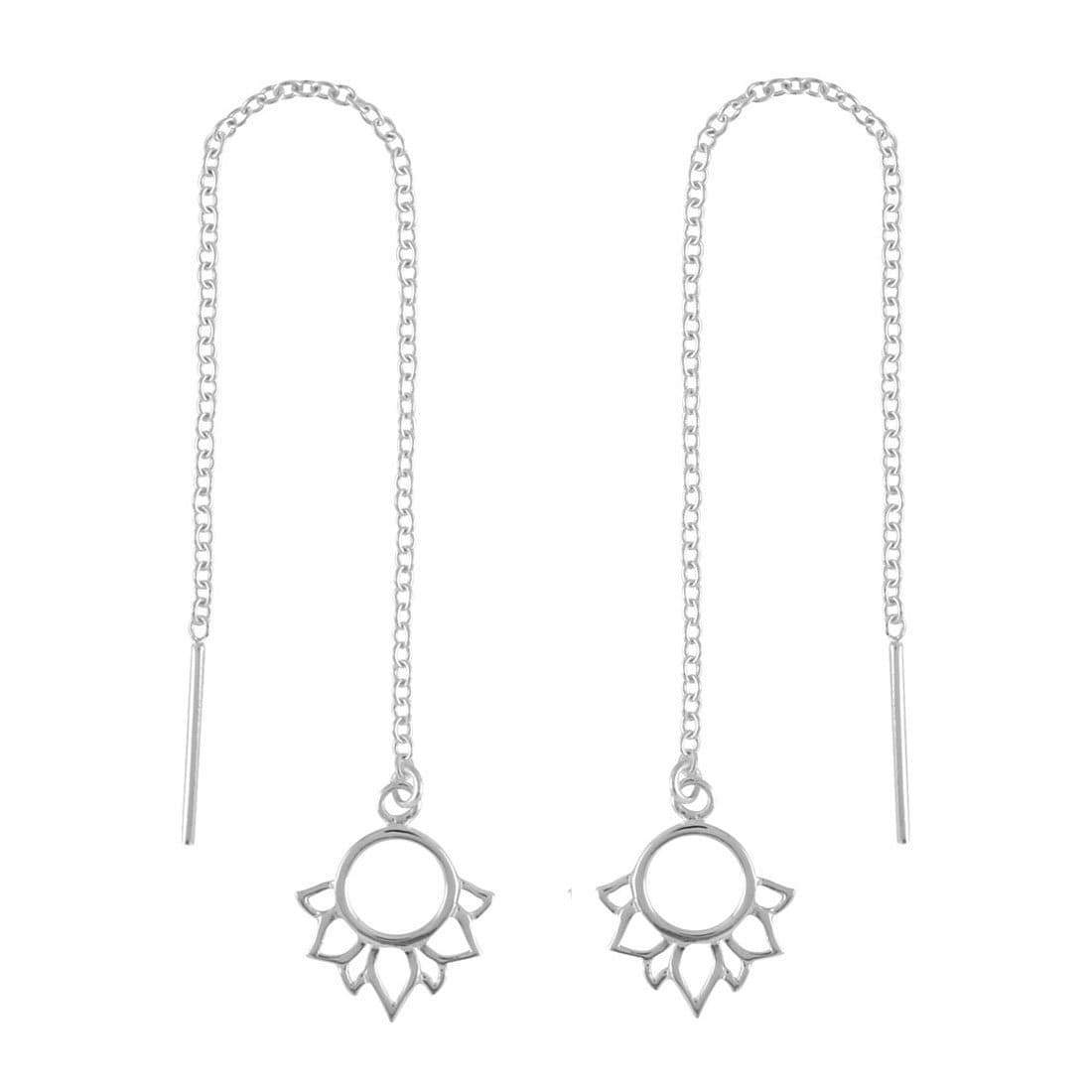 Midsummer Star Earrings Lotus Threaders