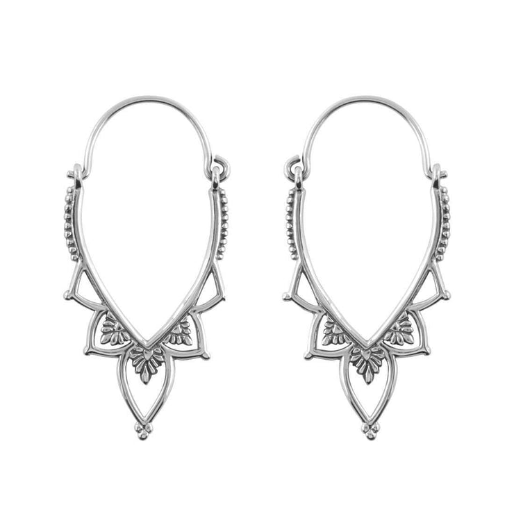 Midsummer Star Earrings Love Lace Hoops