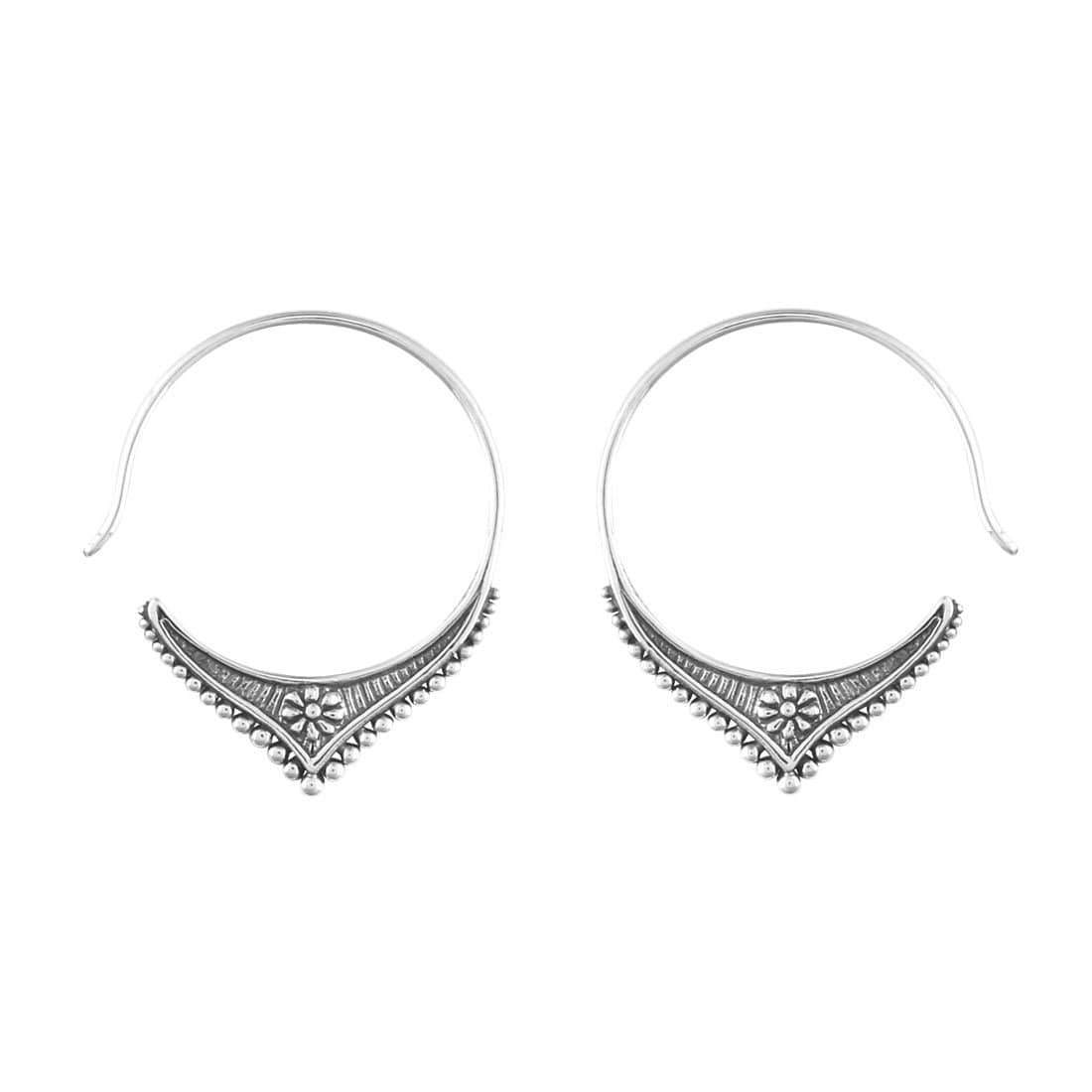Midsummer Star Earrings Malabar Hoops