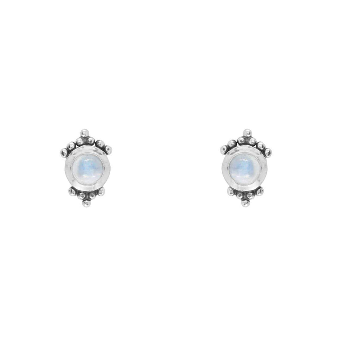 Midsummer Star Earrings Mirage Moonstone Studs