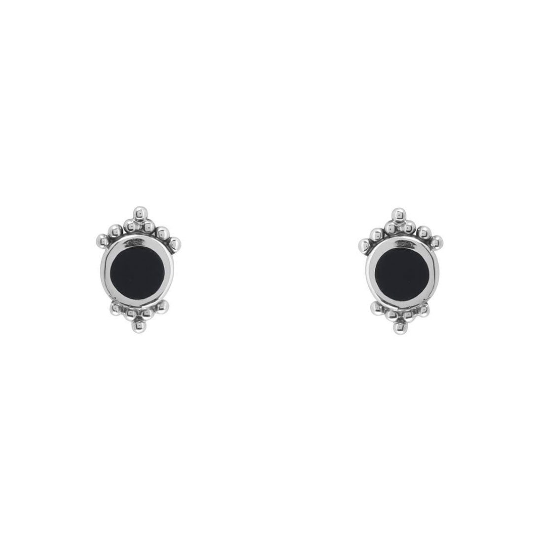 Midsummer Star Earrings Mirage Onyx Studs