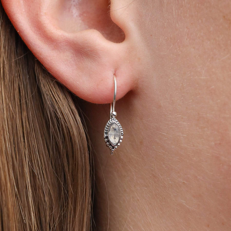 Oasis Moonstone Earrings