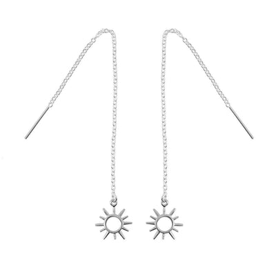 Midsummer Star Earrings Open Sunshine Threaders