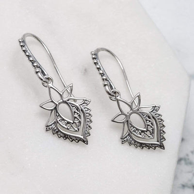 Midsummer Star Earrings Protea Earrings