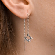 Midsummer Star Earrings Rising Sun Threaders